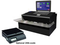 Data-Pac EZ-Mailer Digital All Steel Mailing System w/ 25lb Scale & Thermal Label Printer