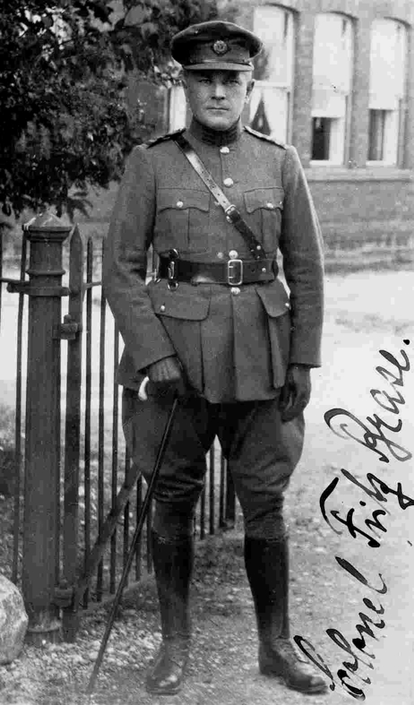 Colonel Fritz Brase in the Uniform of the Irish Free State Army