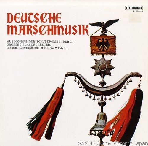 Deutsche Marschemusik -Berlinzer Schutzpolizei
