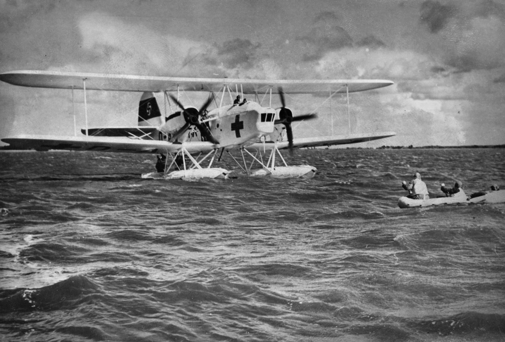He-59 Float Plane