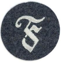 WW2 German Luftwaffe Feuerwerker (Artificer) NCO Sleeve Specialist Insignia (Large F)