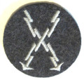 WW2 German Luftwaffe Qualified Teletype Operator Sleeve Insignia