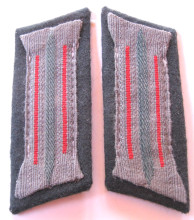 WW2 German Army Artillery Enlisted / NCO Collar Tabs, Pair