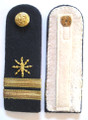 WW2 German Merchant Navy Communications Officer's Shoulder Boards, Pair.