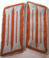 WW2 German Gendarmerie Rural Police Enlisted BeVo Collar Tabs, Pair