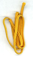 WW2 German Soutasch Piping, for Caps, 2 mm, Yellow, 6' Length