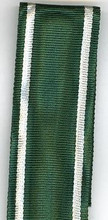 "WW2 German Eastern Peoples Medal, 2nd Class in Silver Ribbon, 6"" Length"