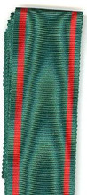 "WW2 German Eastern Peoples Medal, 2nd Class in Gold Ribbon, 6"" Length"