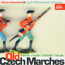 Old Czech Marches: Czech Philharmonic Orchestra. Symphonic versions of sixteen marches written by Czech composers of the nineteenth- and twentieth centuries, conducted by Václav Neumann.
