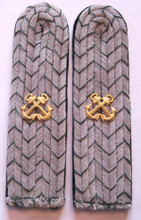 WW2 German Zollgrenzschutz - See Officers shoulder boards, Pair