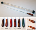 Custom Imprinted Standard Wood Handle Gift Baton with Case