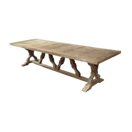 Reclaimed Pine Dining Table (10ft.)