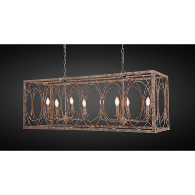 metal rectangle lantern