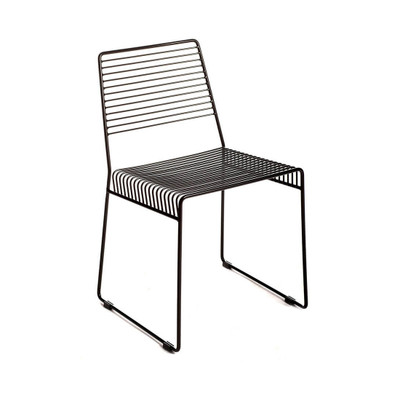 metal slat chair