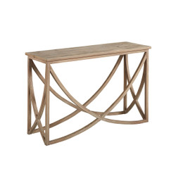 Wishbone Wood Console Table
