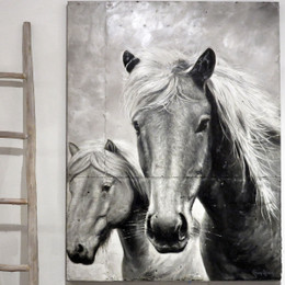 horse wall painting