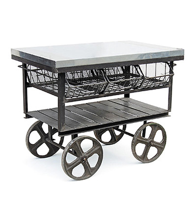 Industrial Factory Station Cart