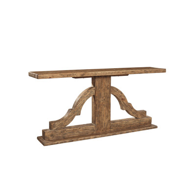 reclaimed pine console
