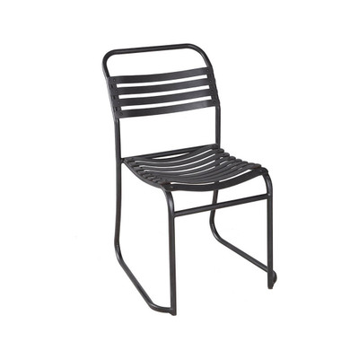 rubber slat outdoor chair
