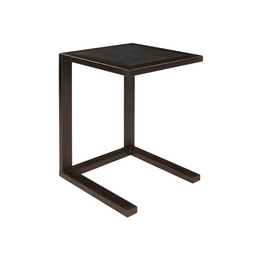 rubber top side table