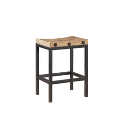 wood block counter stool