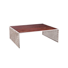 iron screen coffee table