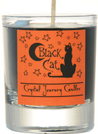 """Black Cat"" Aromatherapy Candle"