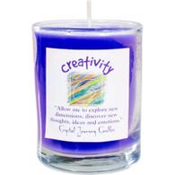 """""""Creativity"""" Aromatherapy Candle"""