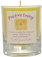 """Positive Energy""  Aromatherapy Candle"