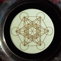 Archangel Matatron's Cube Sacred Geometry Grid