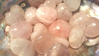 Mini Rose Quartz Hearts