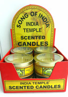 Song of India Temple Candle
