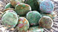 Ruby in Fuchsite Disc