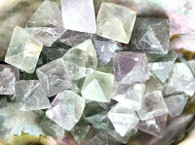 Natural Fluorite Cleavages (2 crystal cleavages)