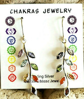 Chakra Semi-Precious Stone Earrings