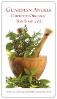 Guardian Angels Certified Organic Shea Honey Oatmeal Bar Soap