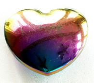 Hematite Aura Heart