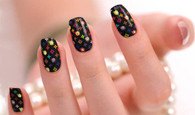 Louis Vuitton Nail Polish Stickers by Candied Nails