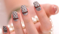 Gucci Nail Polish Stickers by Candied Nails