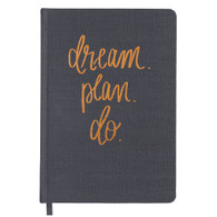 Dream Plan Do Fabric Journal