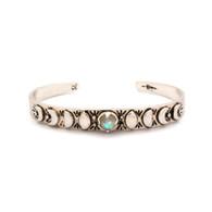 Labradorite Moon Phase Cuff Bracelet