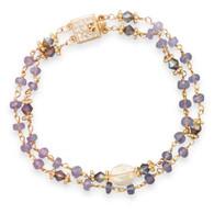 Tanzanite & Citrine Bracelet