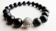 Black Onyx Wrist Mala Bracelet