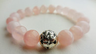 Rose Quartz Wrist Mala Bracelet