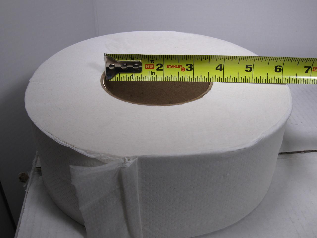 360 Inch Core JRT Jr 2 Ply Toilet Tissue 12 Case