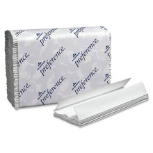 Georgia-Pacific Preference C-Fold White Towels, 12 per case