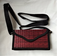 Fair Trade Woven Grass Purse from Cambodia