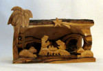 Fair Trade Olive Wood Nativity from West Bank