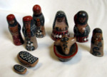 Fair Trade Tonala Ceramic Nativity Set from Mexico