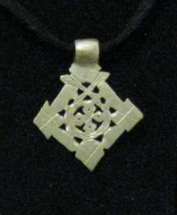 Fair Trade Coptic Cross Necklace from Ethiopia